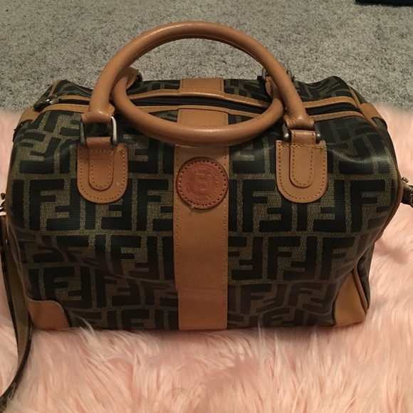 b602f858b6f9 FENDI Handbags - Posh Pick🎉Vintage 80 s Fendi Dr. Bag Zucca Print