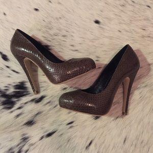 Kathryn Amberleigh Shoes - Kathryn Amberleigh Snakeskin Handmade Pump