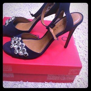 Carrano Suede Heeled Shoes