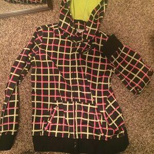 Aperture Jackets & Blazers - Multicolored hoody/snow fleece
