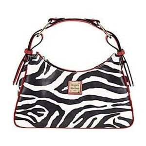 6f7ae2a125 Dooney   Bourke Bags - Dooney   Bourke red trim zebra purse leather