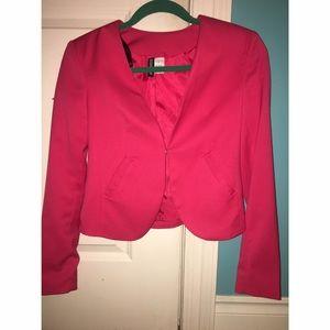 Size 2 H&M women's crop top jacket