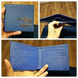 Prada Other - Authectic Prada Mens Saffiano Travel Bifold Wallet