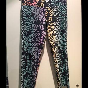 Onzie Pants - Tribal Print Capri Leggings