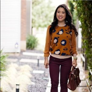 Sweaters - Peter Pilotto for Target leopard sweater