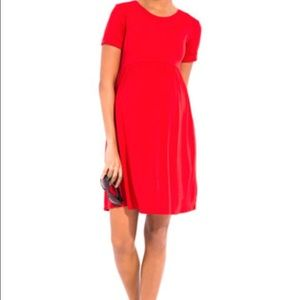 Designer brand red maternity dress brand new
