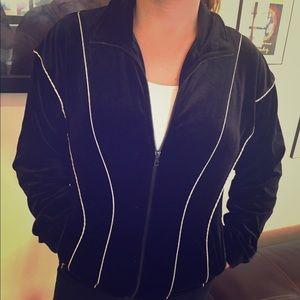 Fila Jackets & Blazers - Fila Velvet Zip-Jacket