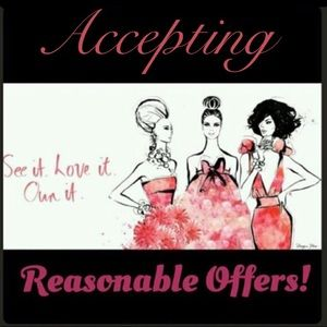 Accepting REASONABLE offers!!!