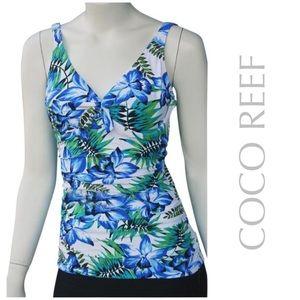 SWIM SALE☀️NEW COCO REEF tankini swim top suit 34D