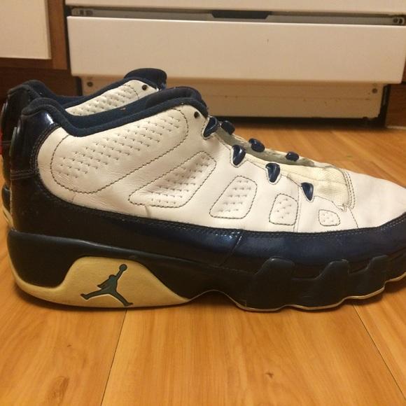 newest c73dc c26ff Jordan Shoes - 2002 Air Jordan 9 retro low white  blue pearl