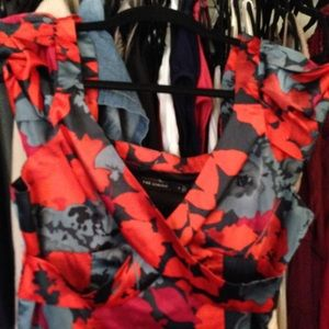 The Limited floral dress. Silly feel. Size 6