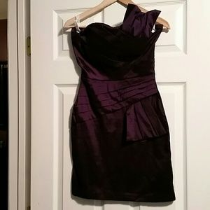 Snap Dresses & Skirts - Purple Cocktail or Party Dress sz 9