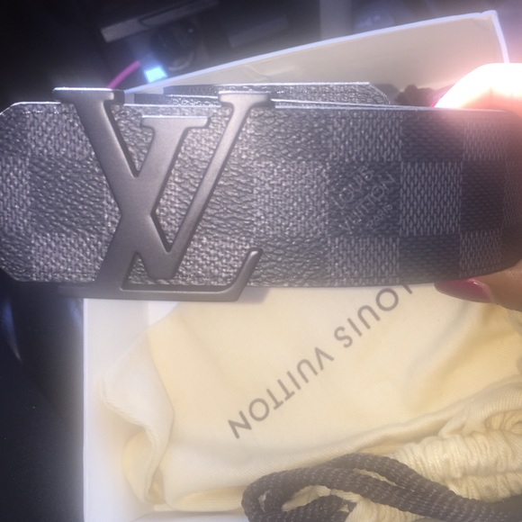 5c2b64130ffa Louis Vuitton Accessories - Louis Vuitton belt size 100 40 (us 34-36