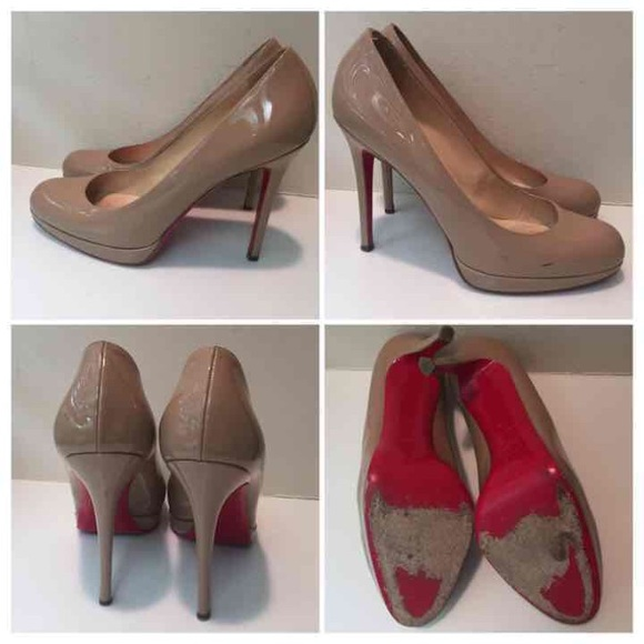 16418f37daf Authentic Christian Louboutin Simple 100mm pumps
