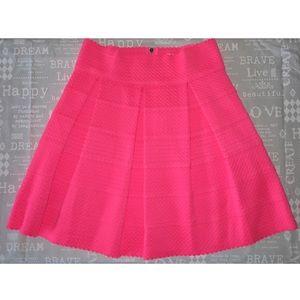 Petit Gâteau Neon Pink Scalloped Skater Skirt 🔅SALE #1: s e72b5643edd