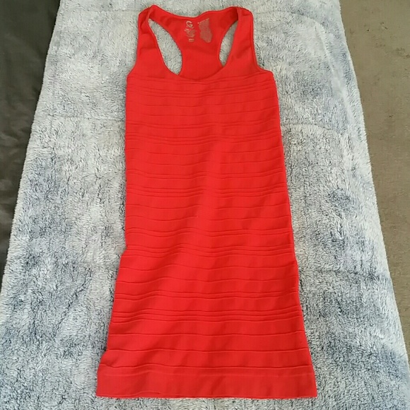G by guess red dress outfit