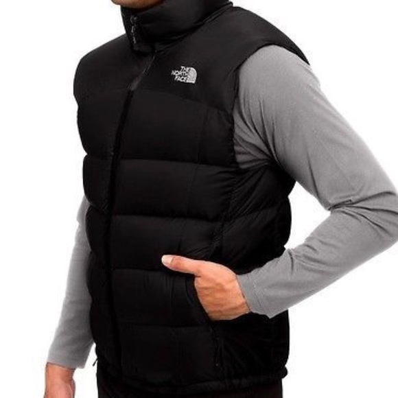 The North Face Jackets Coats North Face 550 Black Puffer Vest
