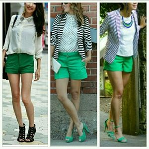 Pants - 🆕Gorgeous Green Shorts NWOT