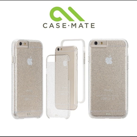 Case-Mate Waterfall Case iPhone 8/7/6/6S - Glow make light up the room with the dynamic snow glow effect of the Glow Waterfall case. The cascading sparkle and fluorescent glow in the dark glitter, created by mineral oil, makes this piece one-of-a-kind.