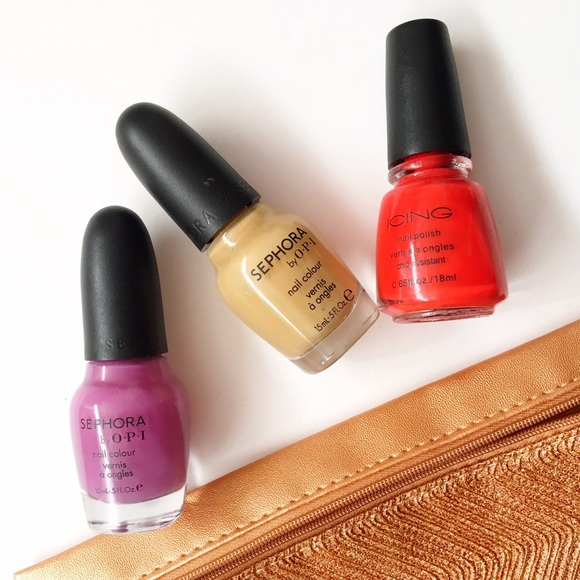 Opi Other - Bright & Beige | Nail Polish Trio