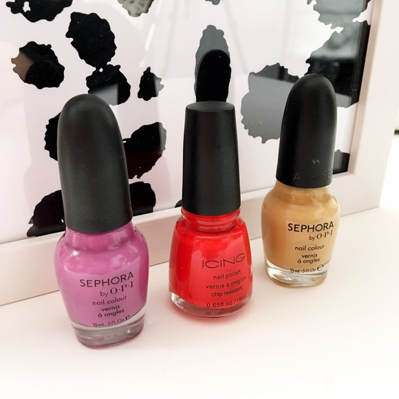 Opi Makeup - HALF OFF SALE | Bright & Beige | Nail Polish Trio