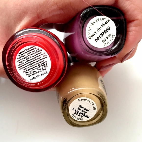 Opi Makeup - Bright & Beige | Nail Polish Trio