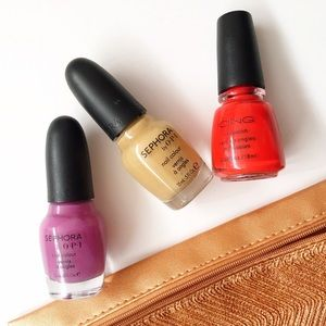 Bright & Beige | Nail Polish Trio