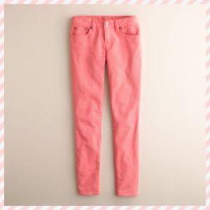 J. Crew Toothpick Jeans in Stretch Twill, 24!