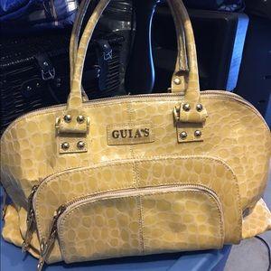 Italian leather Large Bag