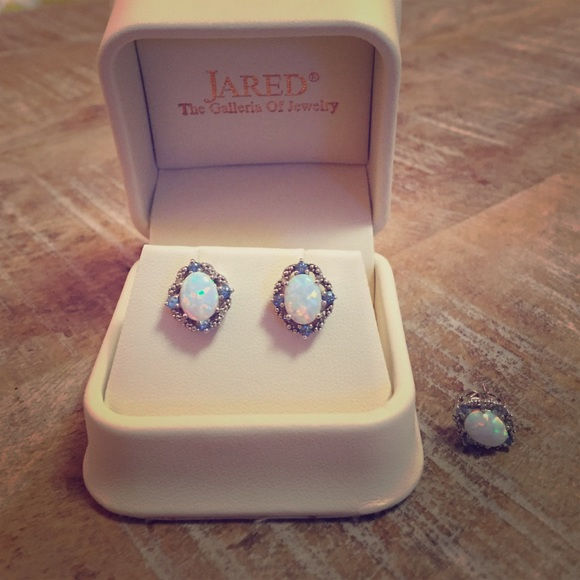 85 off Jared Jewelry Sale Jareds Opal Aquamarine Diamond Poshmark