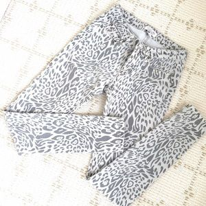 Forever 21 Jeans - Like NEW Forever21 leopard print jeans in grey