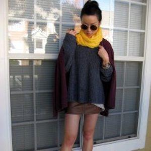 Zara Accessories - Like NEW soft yellow silky light scarf
