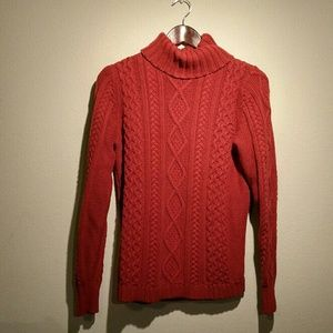 Eddie Bauer Beautiful Cable Knit Sweater