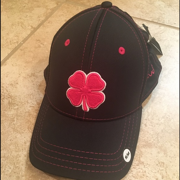 Black Clover Live Lucky women s hat in black pink fa9f1ab0352e