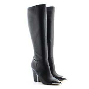 Sam Edelman Shoes - Sam Edelman Maureen Black Boots w/ Chunky Heel