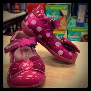 Agatha Ruiz De La Prada Other - Agatha Ruiz De La Prada Pink Patent Polka Dot Shoe