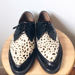 Dr. Martens Shoes - Pony hair Dr Martens / Creepers / Monk oxfords