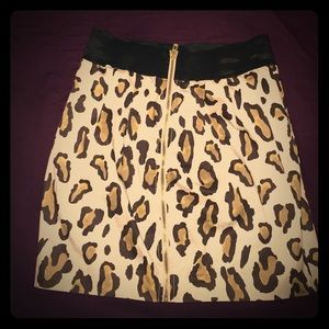 Armani Cheetah print skirt