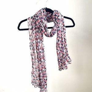Mango Accessories - Like NEW Mango light floral scarf