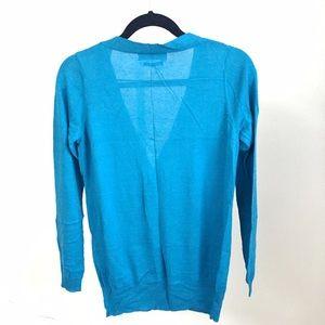 Zara Sweaters - NEW Zara fine knit blue cardigan