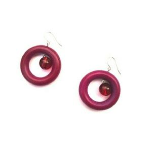Jewelry - Magenta Earrings