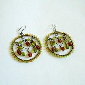 Jewelry - Beaded hoops
