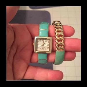 Accessories - Final price- price dropped Watch and bracelet set