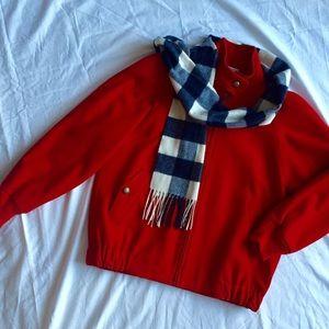 Pendelton Red wool Jacket
