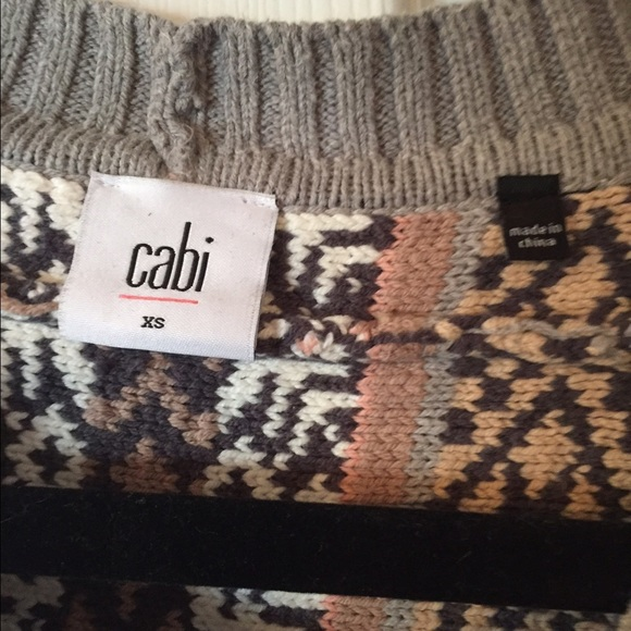 53% off CAbi Sweaters - Cabi Fair Isle poncho fall 2015 from T's ...