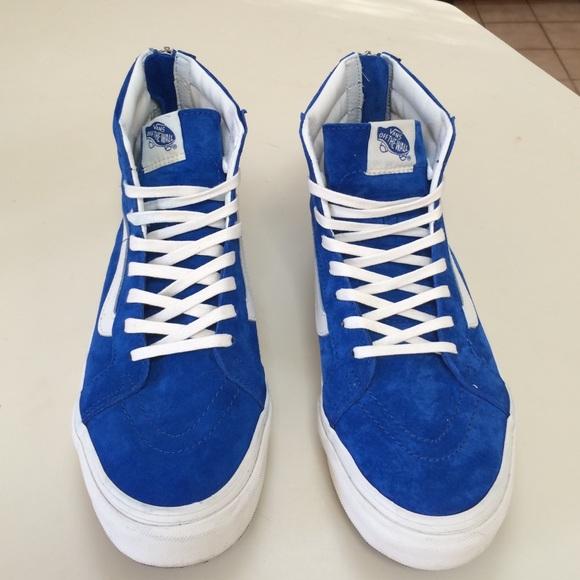 Vans Shoes - Vans Scotchgard Sk8-Hi Slim Zips 6e302740f544