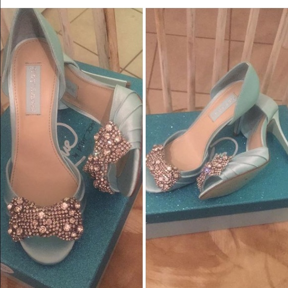 Betsey Johnson Shoes   Sbgown Blue By Betsy Johnson   Poshmark
