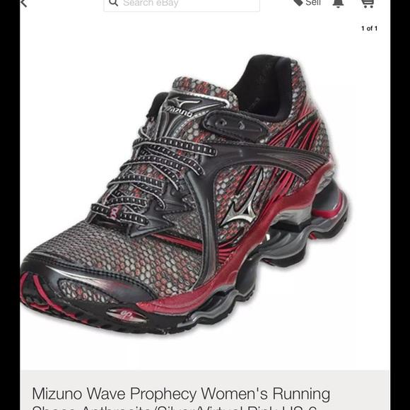 mizuno wave prophecy womens size 9 01