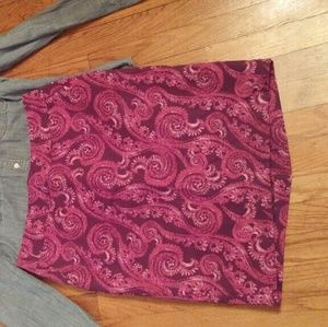 Merona brand pencil skirt