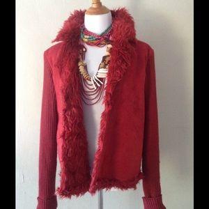 Host Pick🎉 Faux Suede & Shearlng Jacket